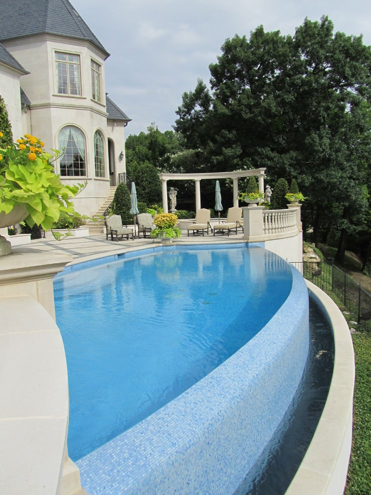 Outdoor Border Pool Designs