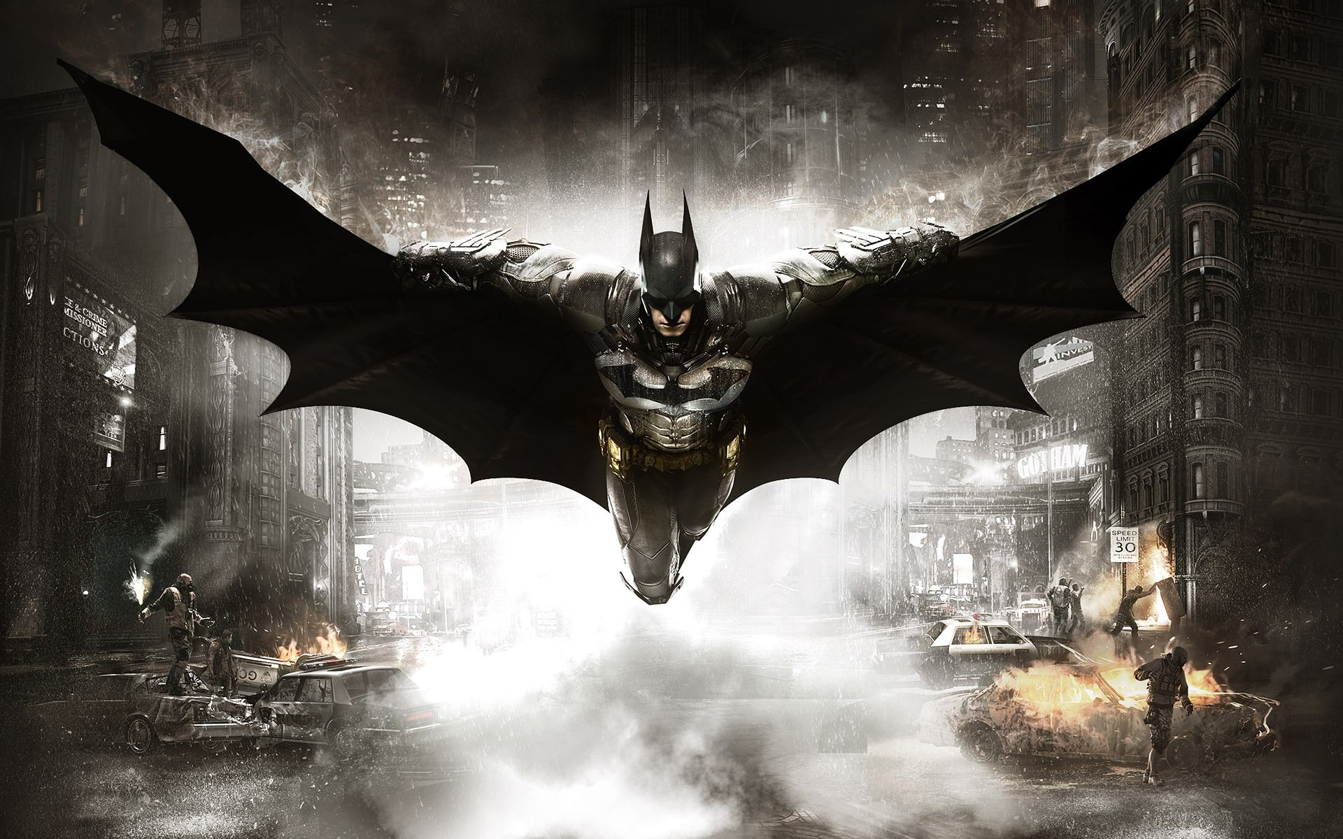 fantastic batman hd background