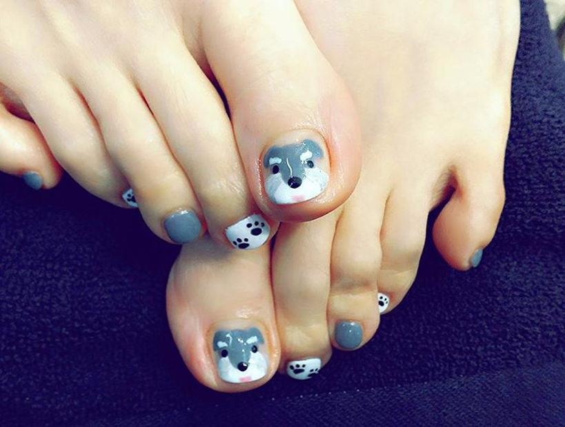 Cute Animal Nail Design