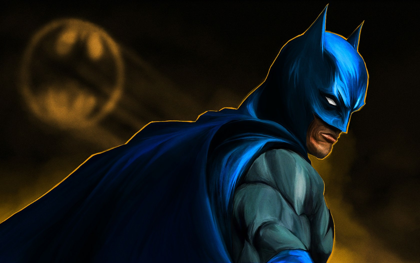 Animated Batman Hd Wallpaper