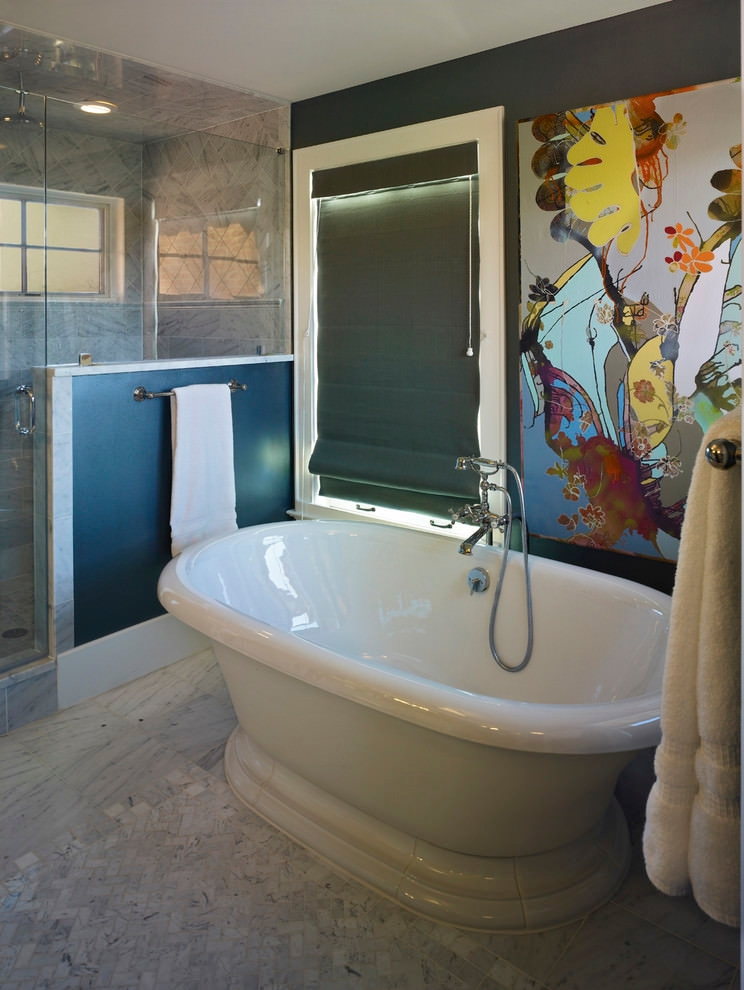 Artful Bathroom Wall Bathroom Ideas