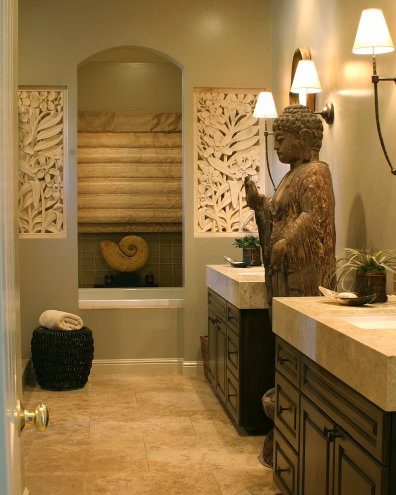 Serene Bathroom Deco Ideas