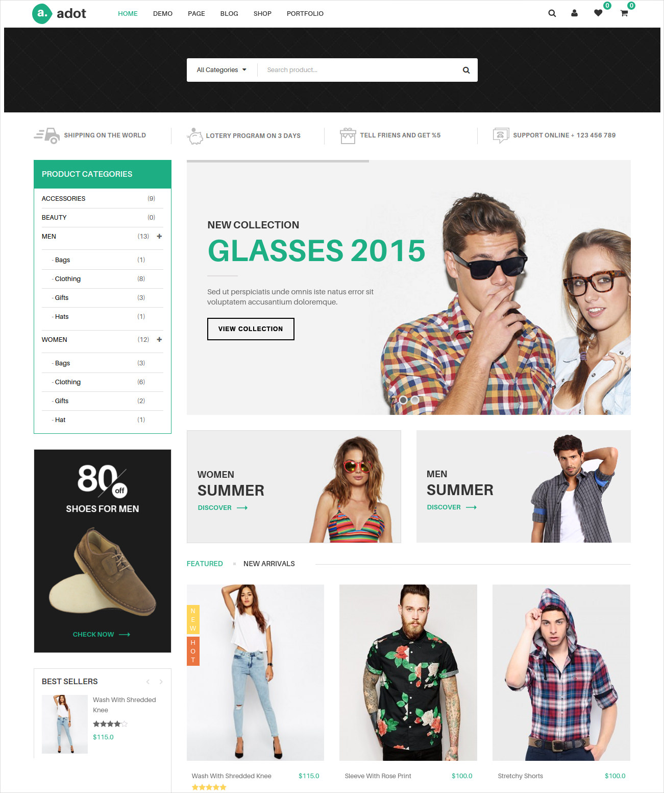 Awesome Ecommerce WordPress Theme