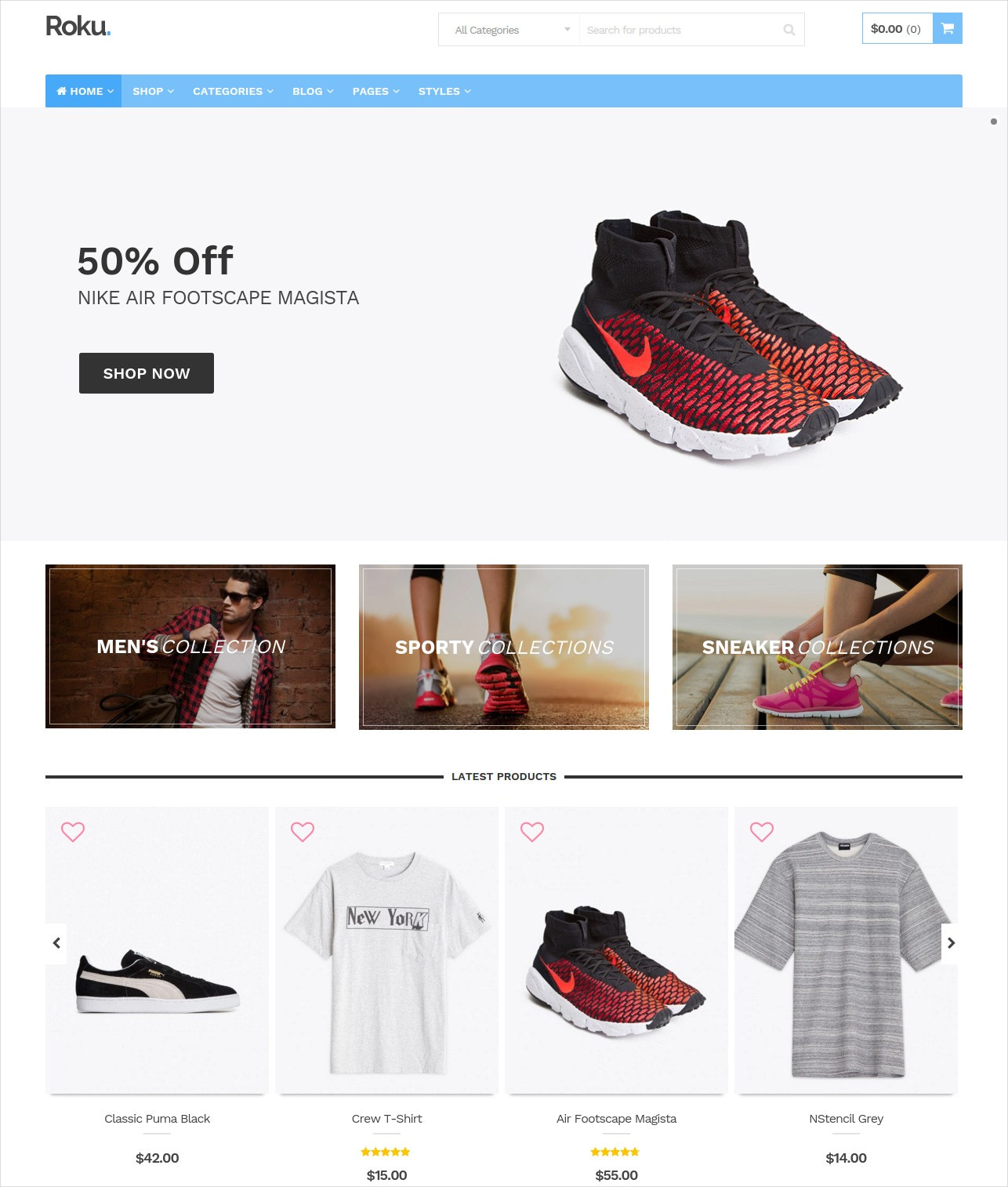 Fashion Ecommerce WordPress Theme
