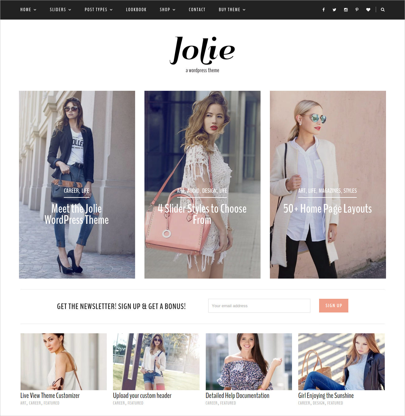 Flexible eCommerce WP Theme