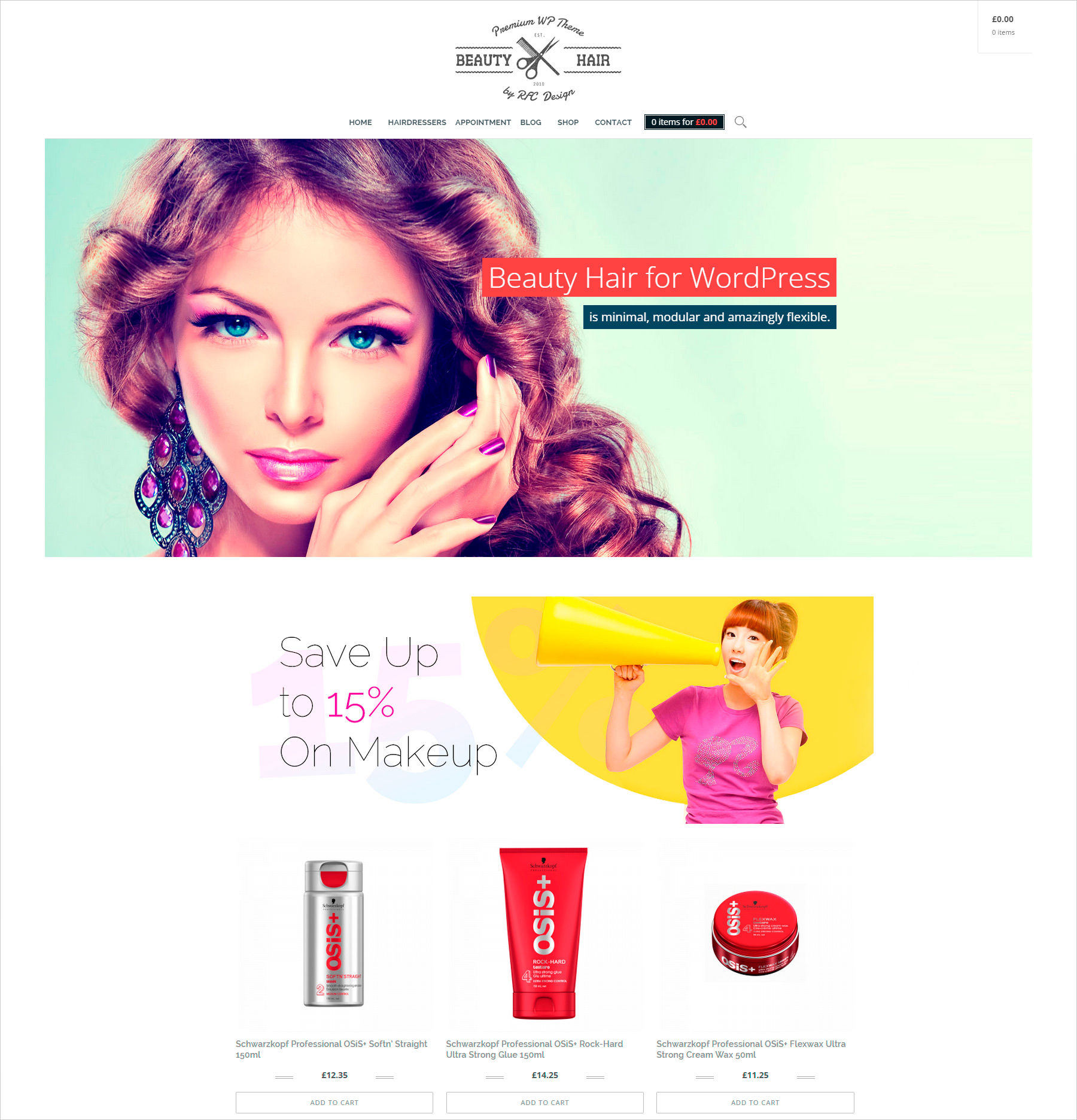 WordPress Ecommerce Themes for Designers