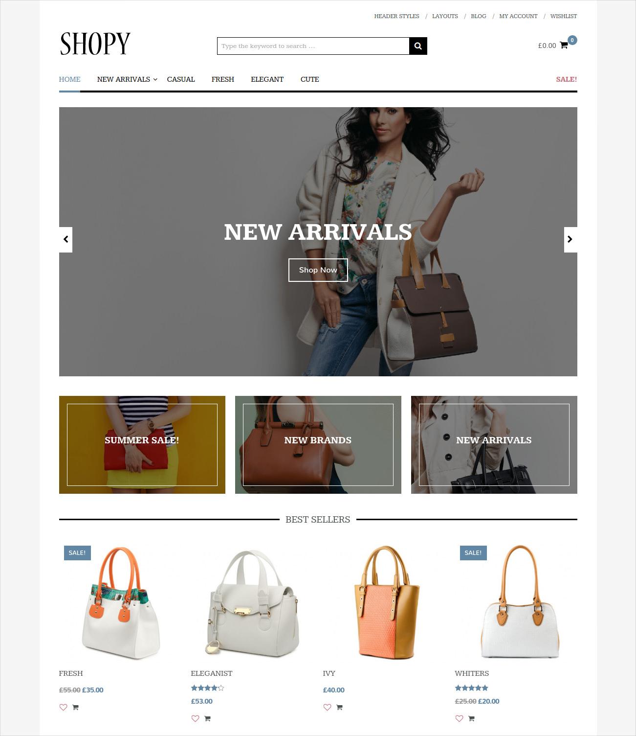 minimal fresh ecommerce theme 49