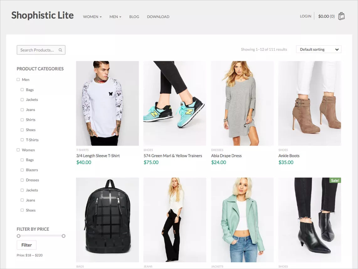 Flexible Ecommerce Theme