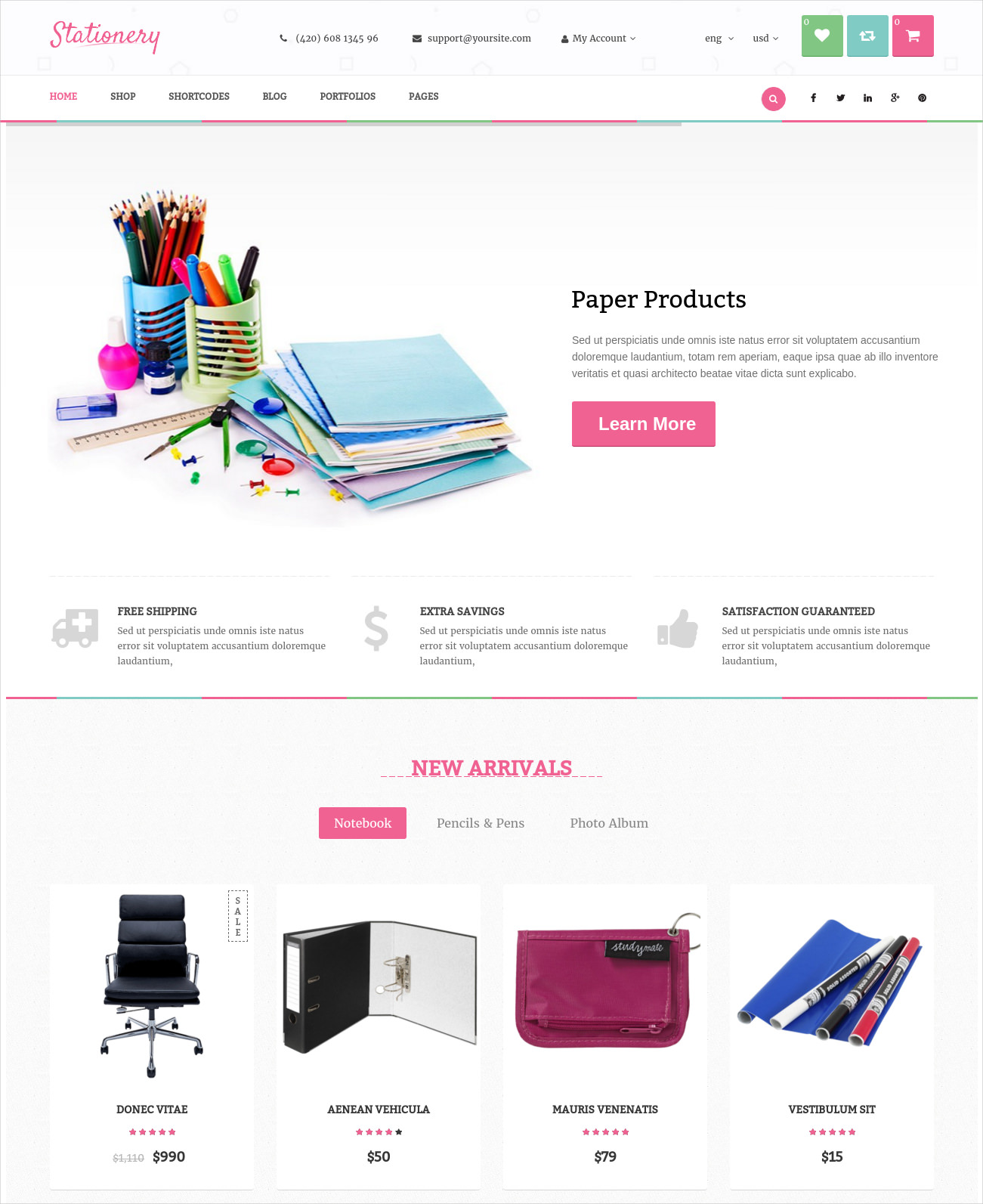 stationery responsive ecommerce wp theme 49