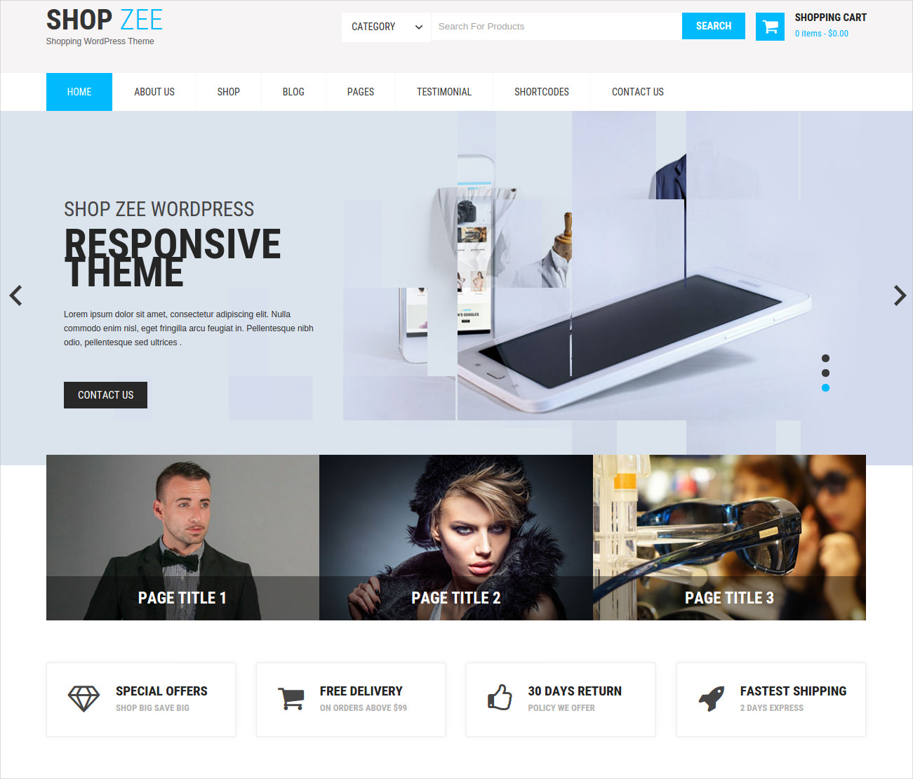 Creative Multi-Purpose Ecommerce WP Theme