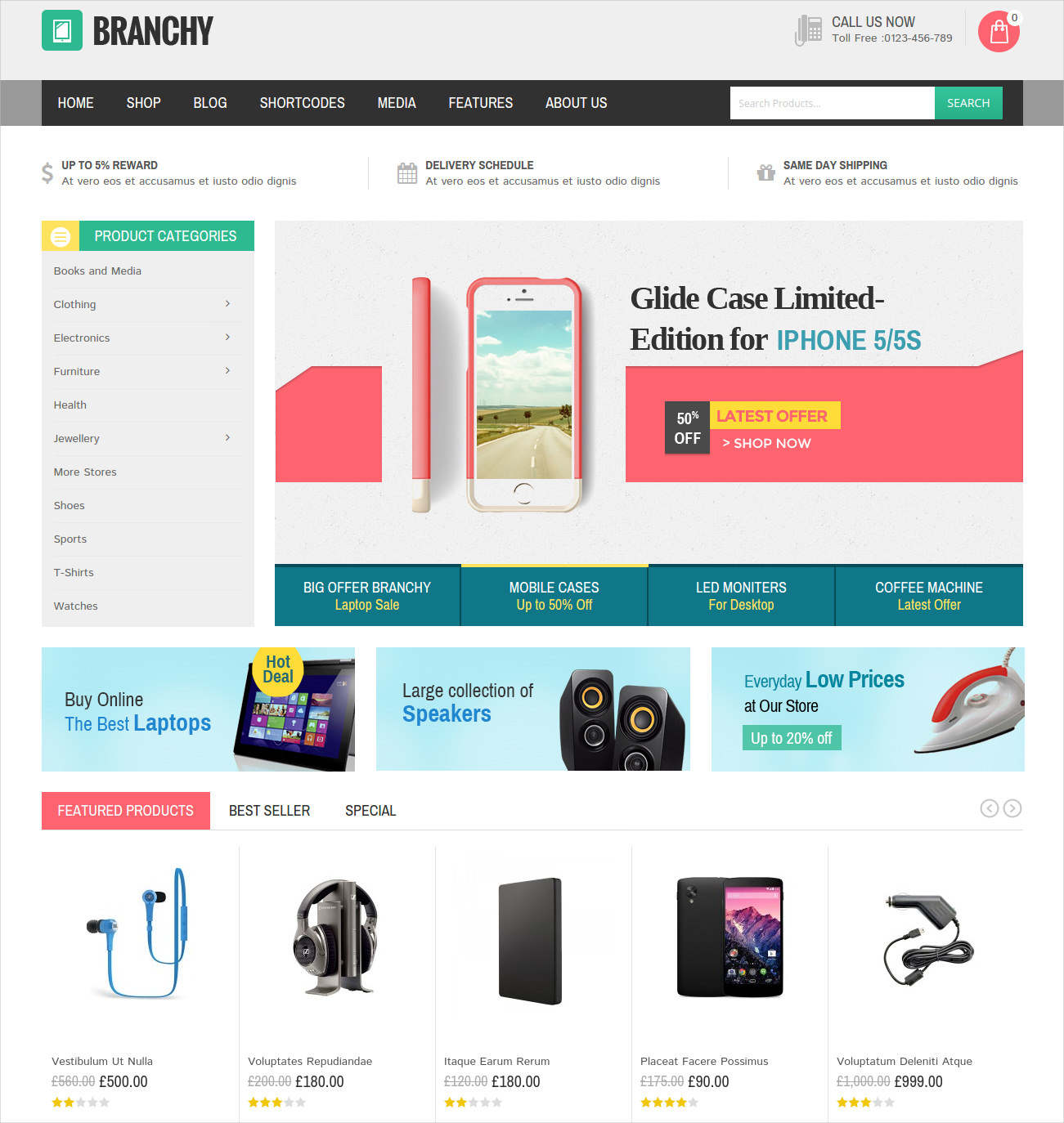 Responsive WordPress Ecommerce Theme