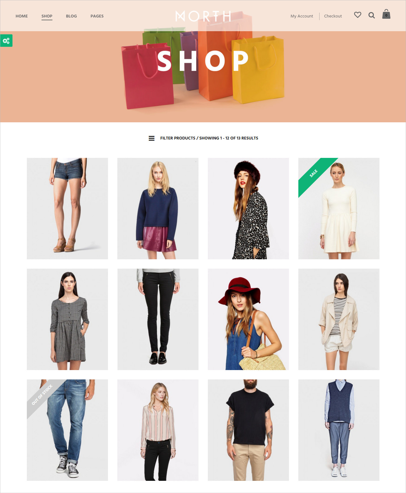 North E-Commerce Theme