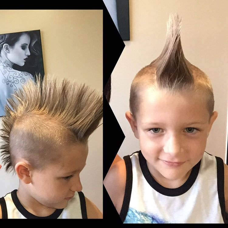 26 Edgy Mohawks Hairstyles For Kids Design Trends Premium Psd