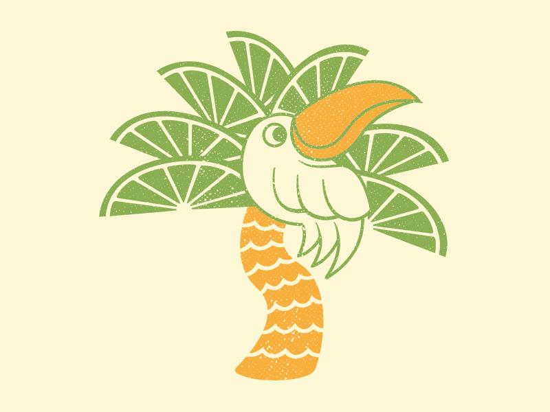 Palm Tree Logo for Restaurant