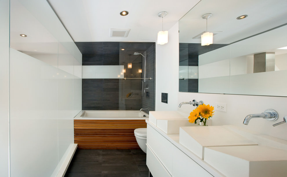 Modish Double Sink Ideas