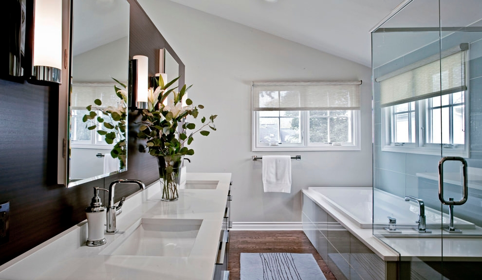 Marble Double Vanity Sink Ideas