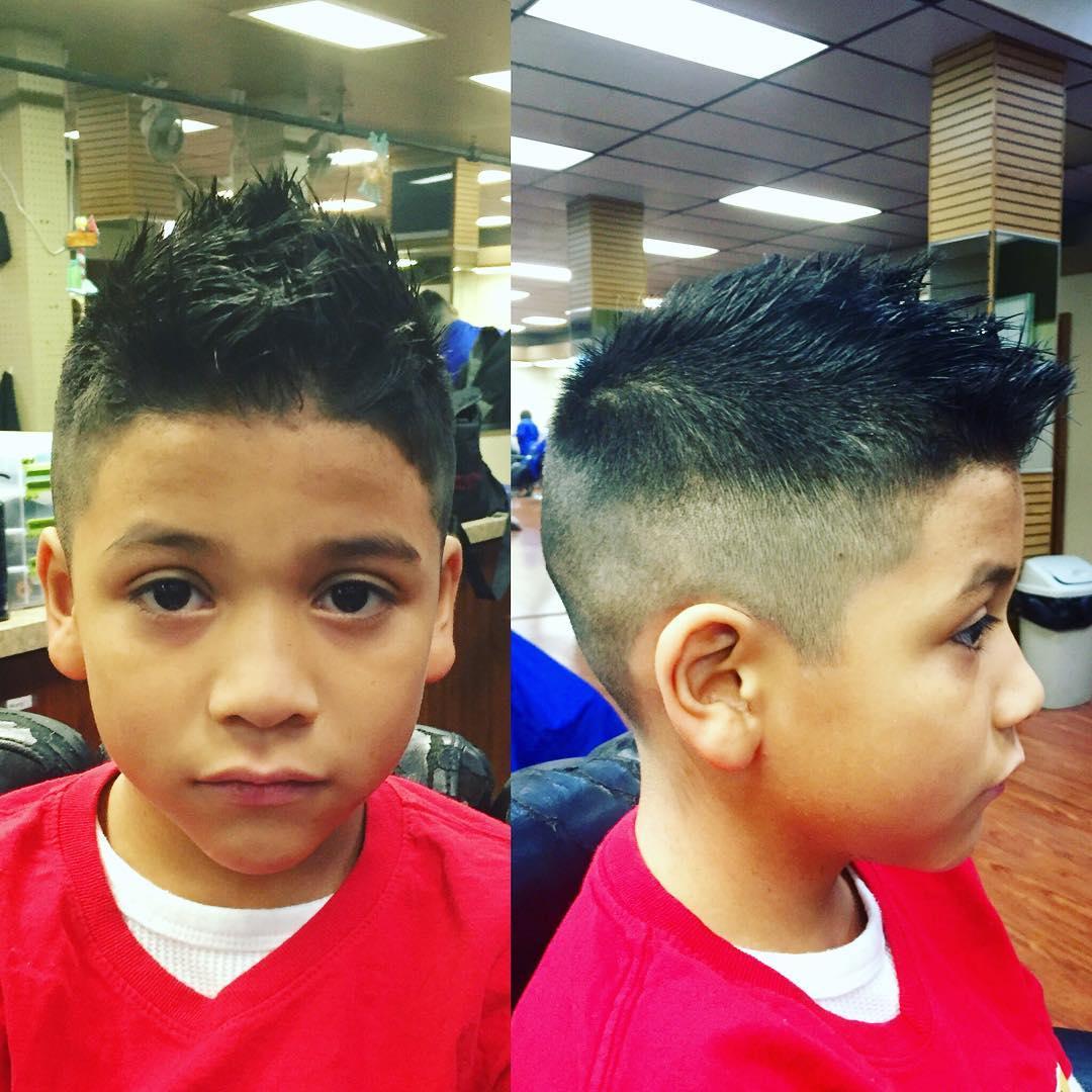 Wondrous 26 Edgy Mohawks Hairstyles For Kids Design Trends Short Hairstyles Gunalazisus