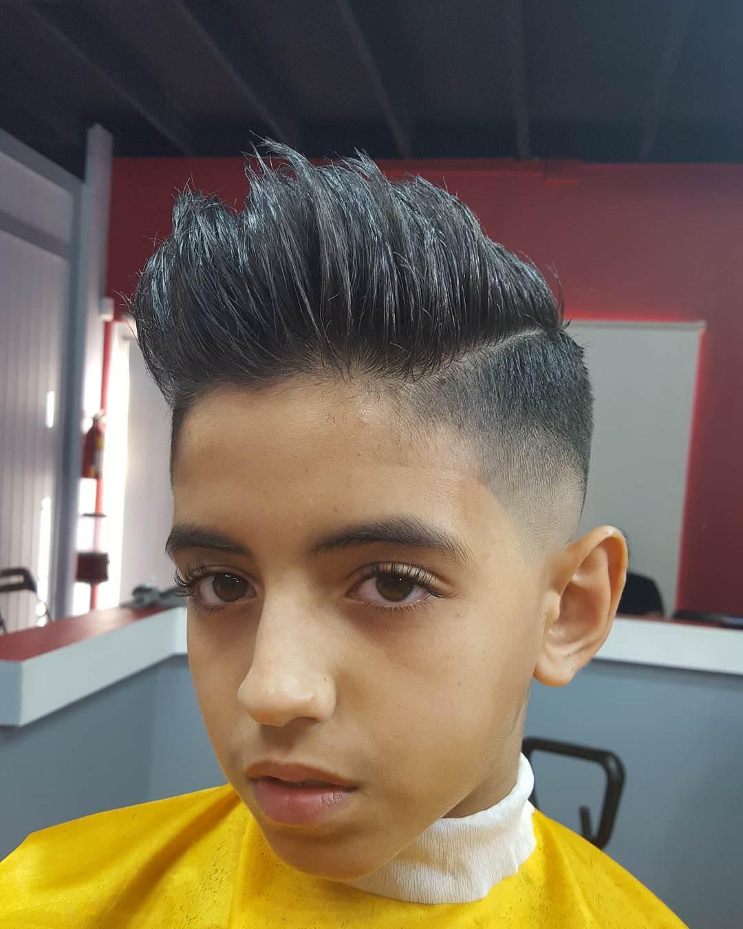 Awe Inspiring 26 Edgy Mohawks Hairstyles For Kids Design Trends Short Hairstyles Gunalazisus