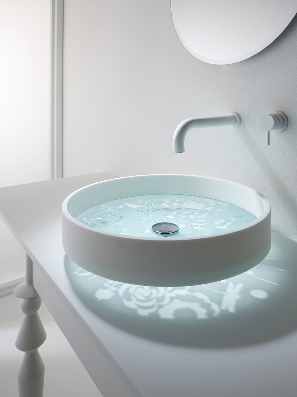 Glass Bathroom Sink Designs