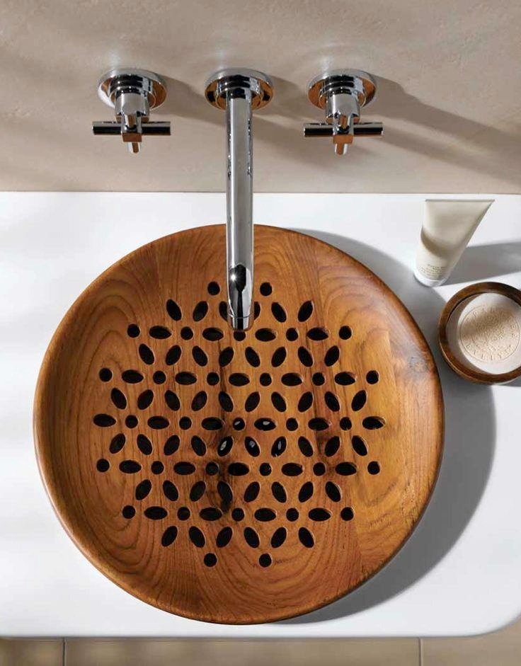 Wooden Bathroom Sink Ideas