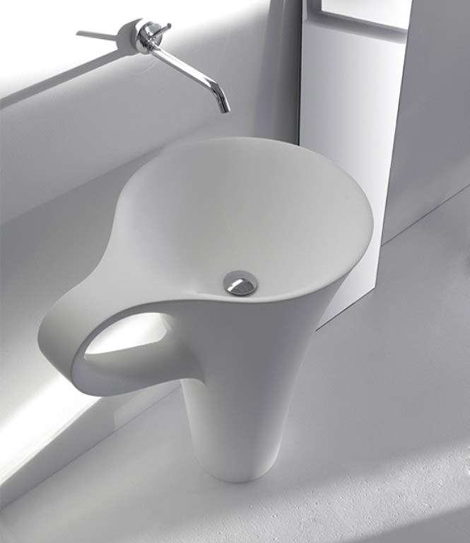white coffee cup basin ideas