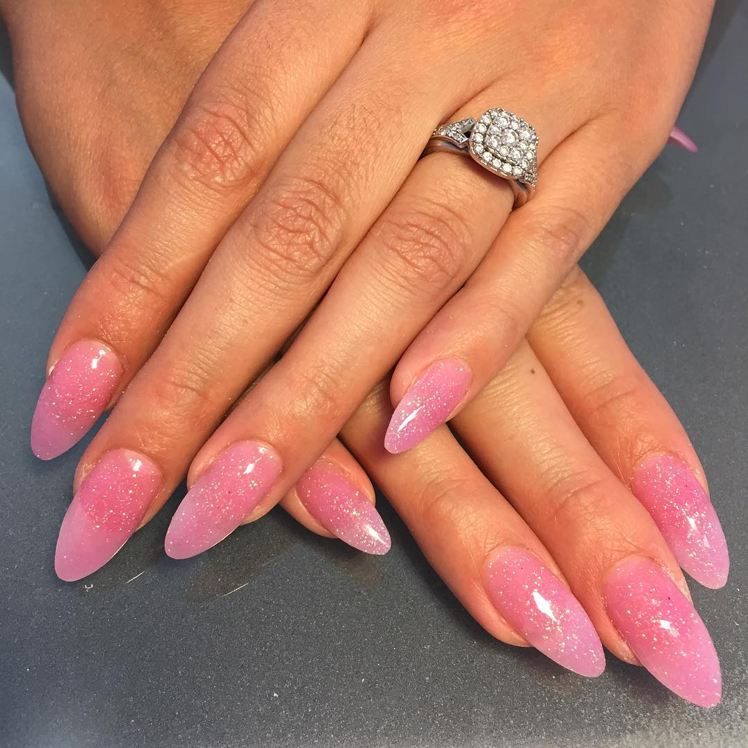 25+ Pink Acrylic Nail Art, Designs, Ideas | Design Trends - Premium ...