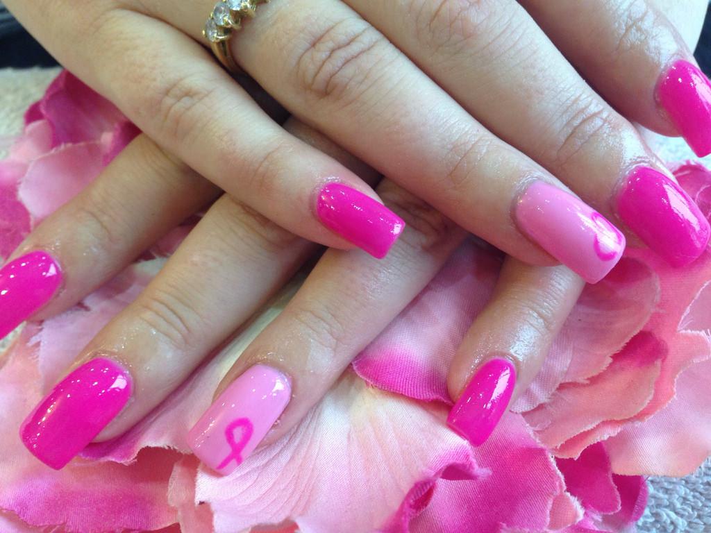 25+ Pink Acrylic Nail Art, Designs, Ideas | Design Trends - Premium ...