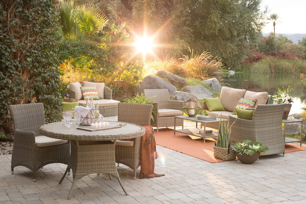transitional patio furniture ideas