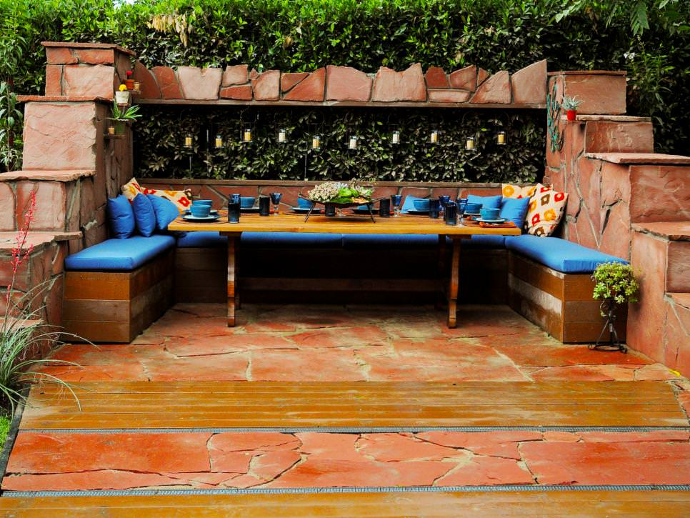 24 transitional patio designs decorating ideas design for Custom backyard designs