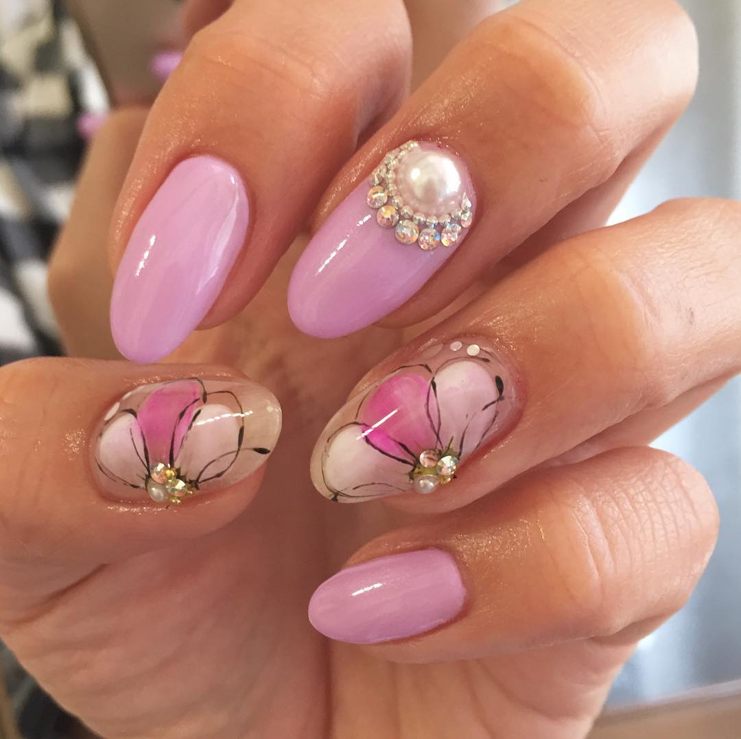26+ Spring Acrylic Nail Designs, Ideas