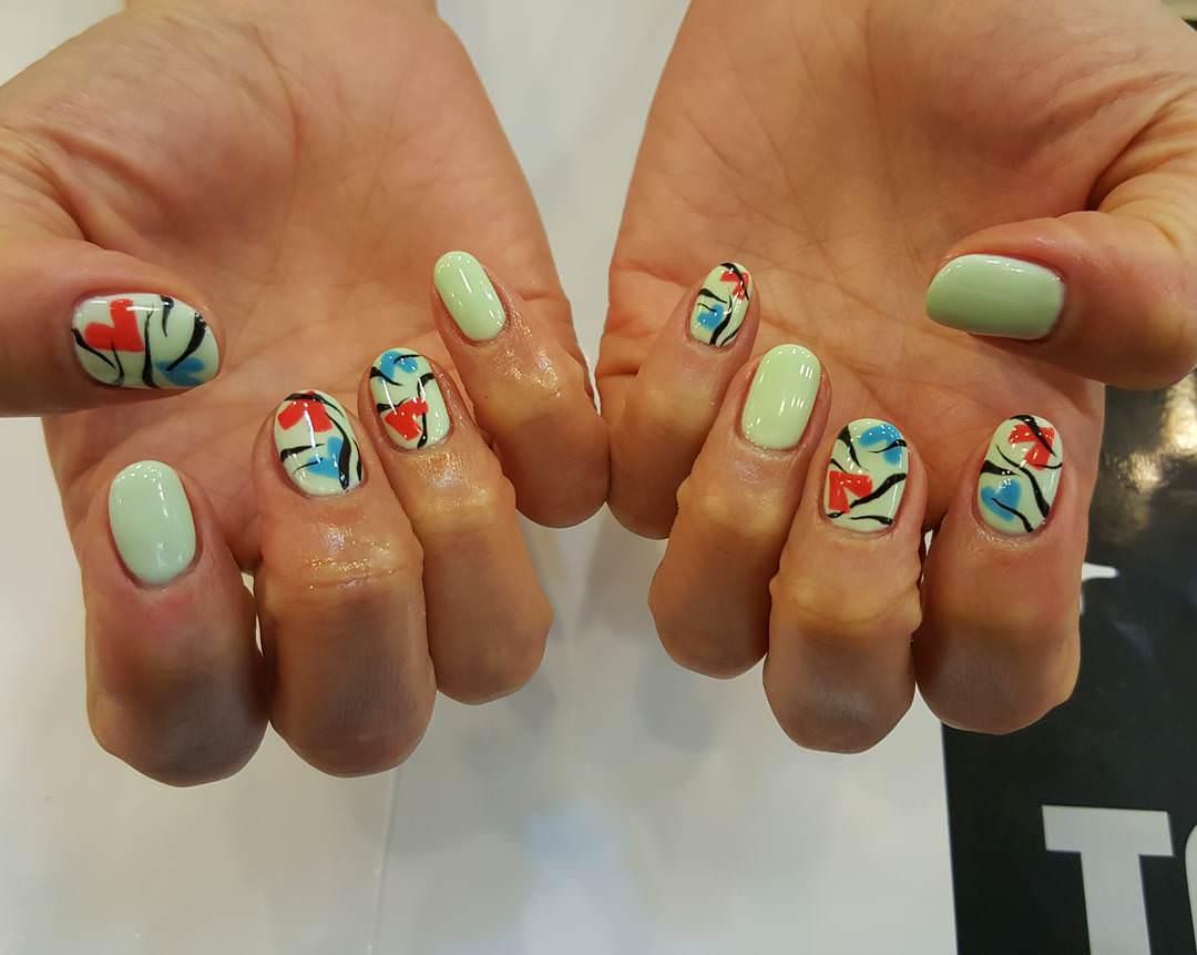 Classy Acrylic Nail Design