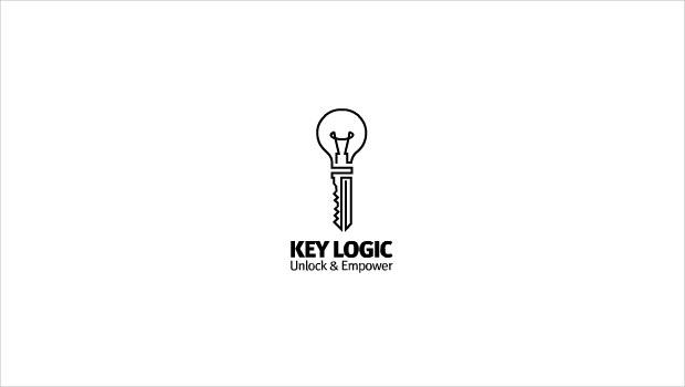 key logic logo design