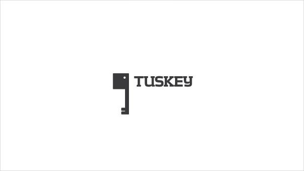 tuskey logo design