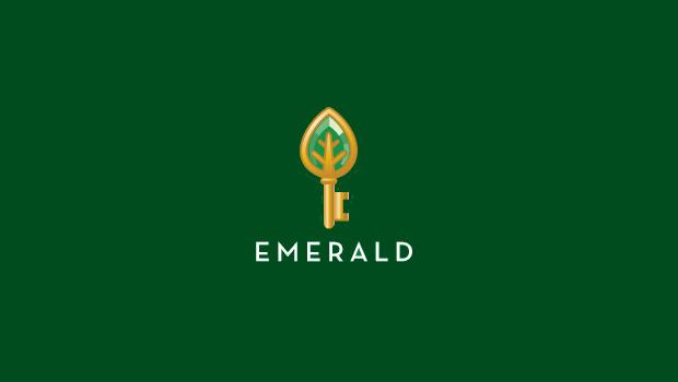 emerald gold key logo