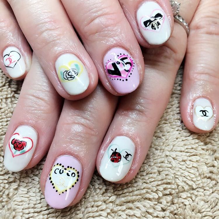 cute japanese nail art