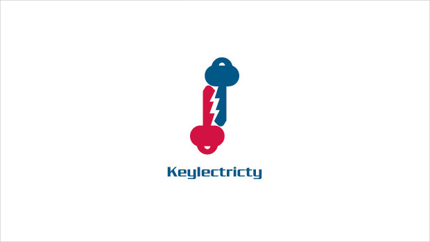 Keylectricty Blue and Red Logo