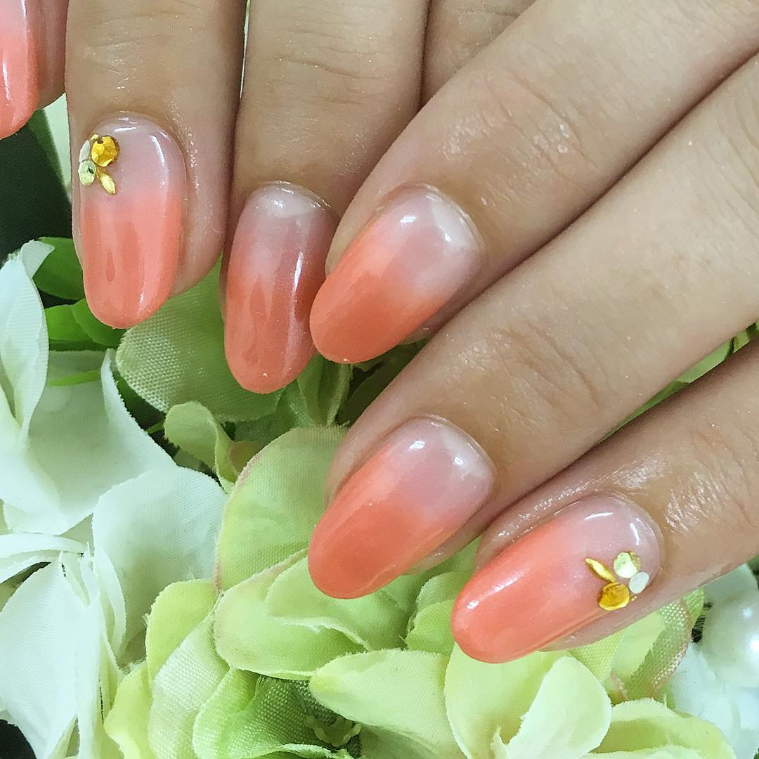 pretty and lovely nail design art