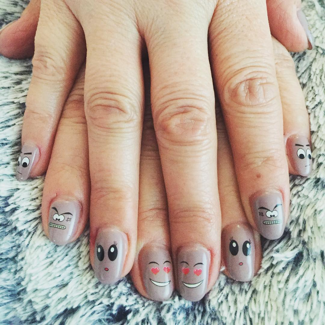classy and funny nail art