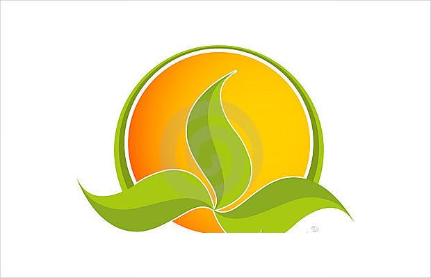 Cute Leaf Logo Design