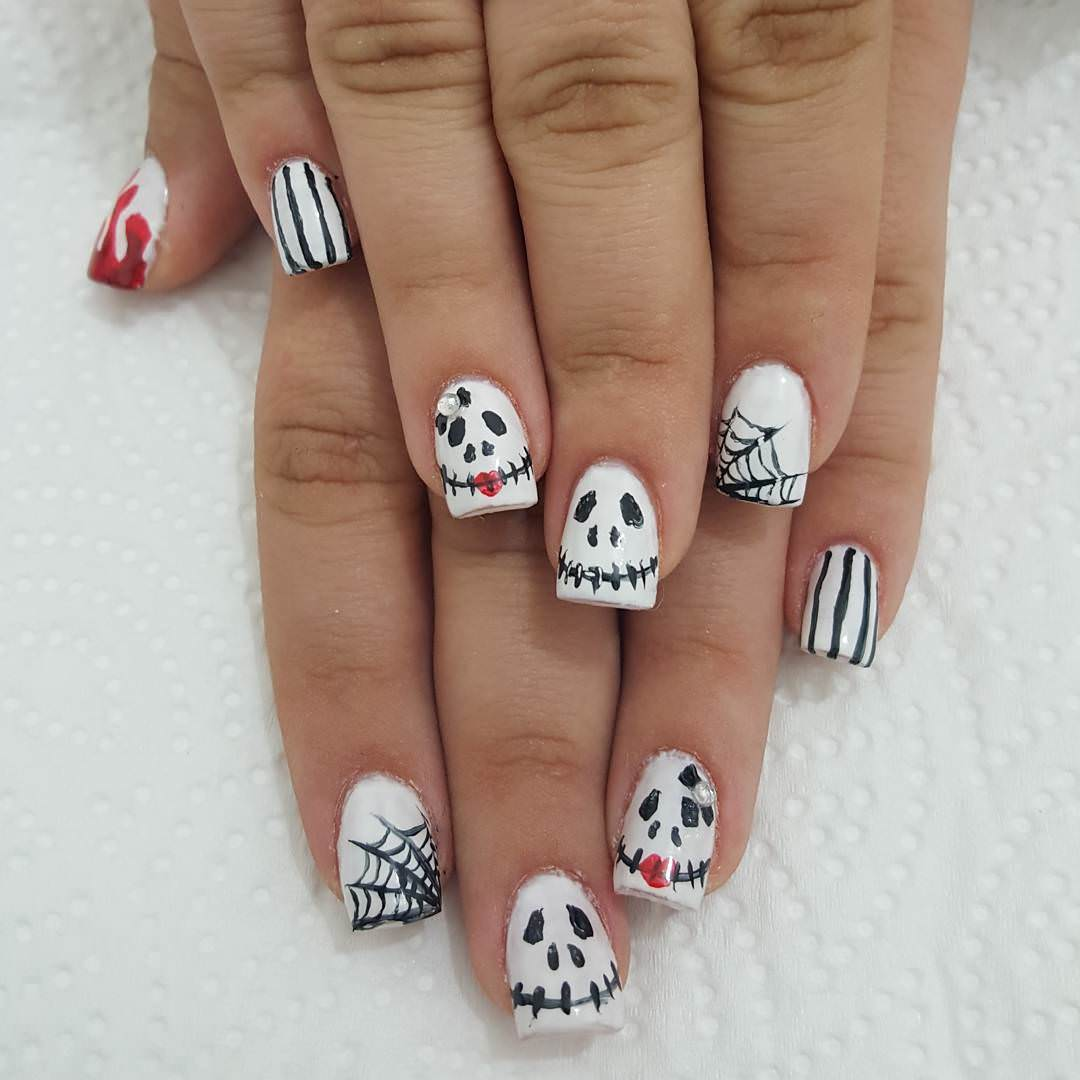 Funny Nail Art Design