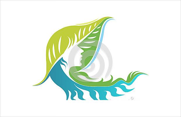 face leaf logo