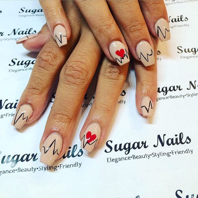 lovely design for women nails