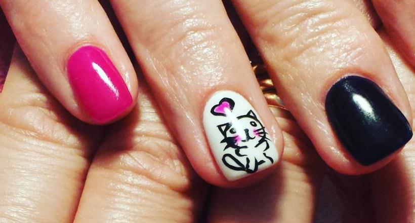 img. Funny acrylic nails designs ... - 28+ Funny Acrylic Nail Art Designs , Ideas Design Trends - Premium