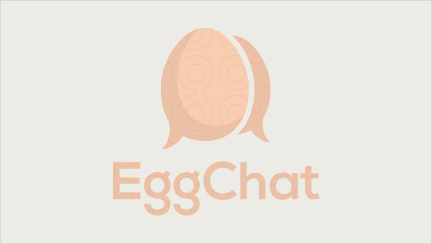 Egg Chat Logo Style