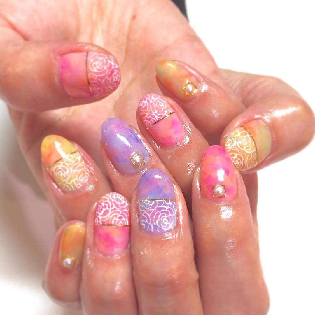 Japanese Nail Art Acrylic.