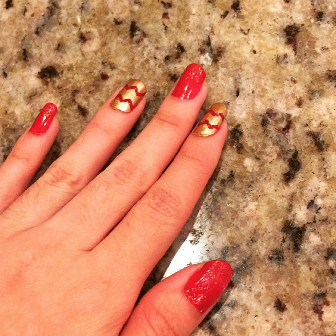 stylish design nail art