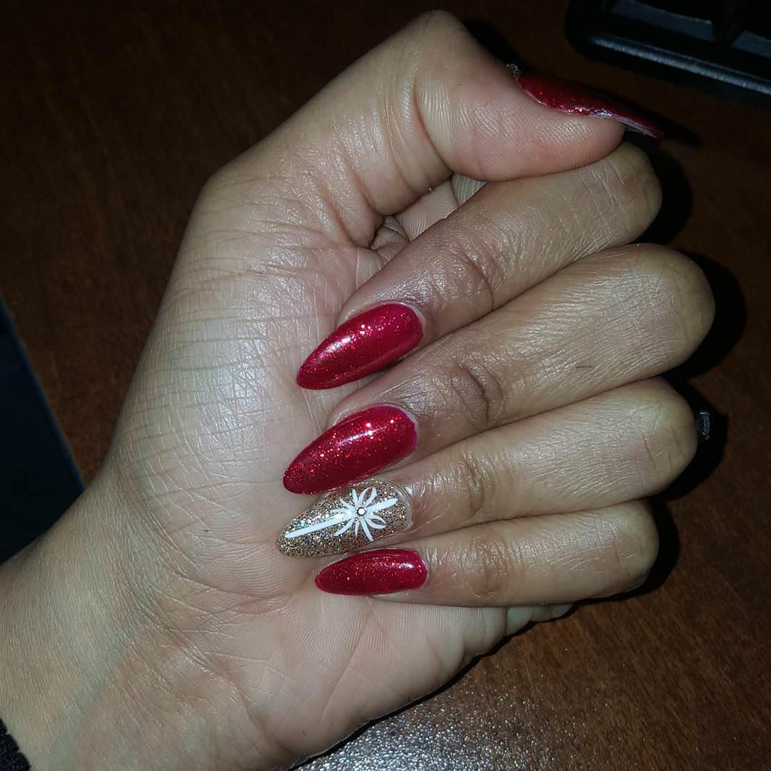 latest trendy nail art