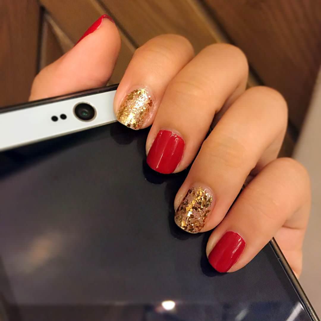 fabulous combination nail design