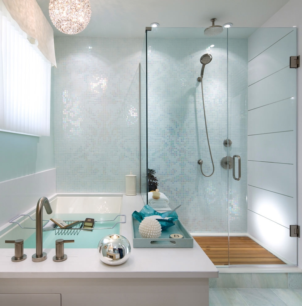 Bathroom Tile: 24+ Mosaic Bathroom Ideas, Designs