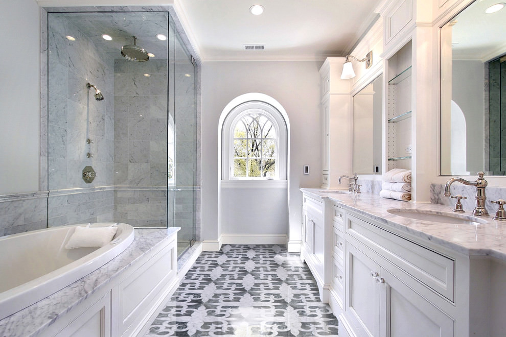 24+ Mosaic Bathroom Ideas, Designs